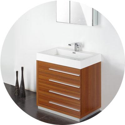 single vanity cabinets