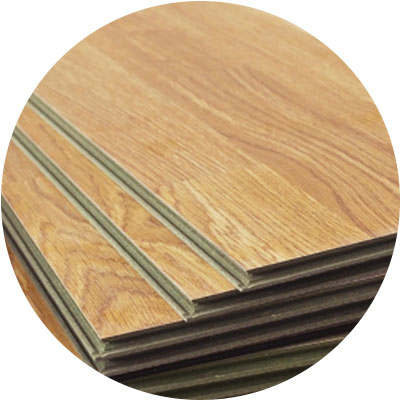 Synthetic Wood Flooring I Use A Jig Saw For Cutting