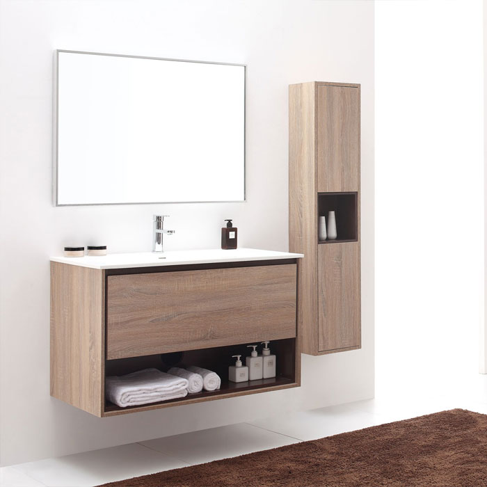 wall mounted bathroom vanities - Bathroom Cabinets Los Angeles