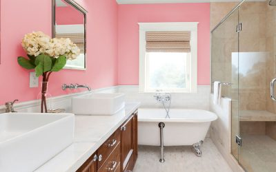 How to Effectively Add Color to a Bathroom without Drenching It