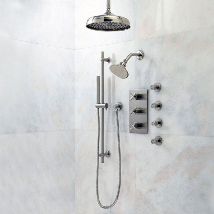 Bathroom Shower Systems Los Angeles | Polaris Home Design