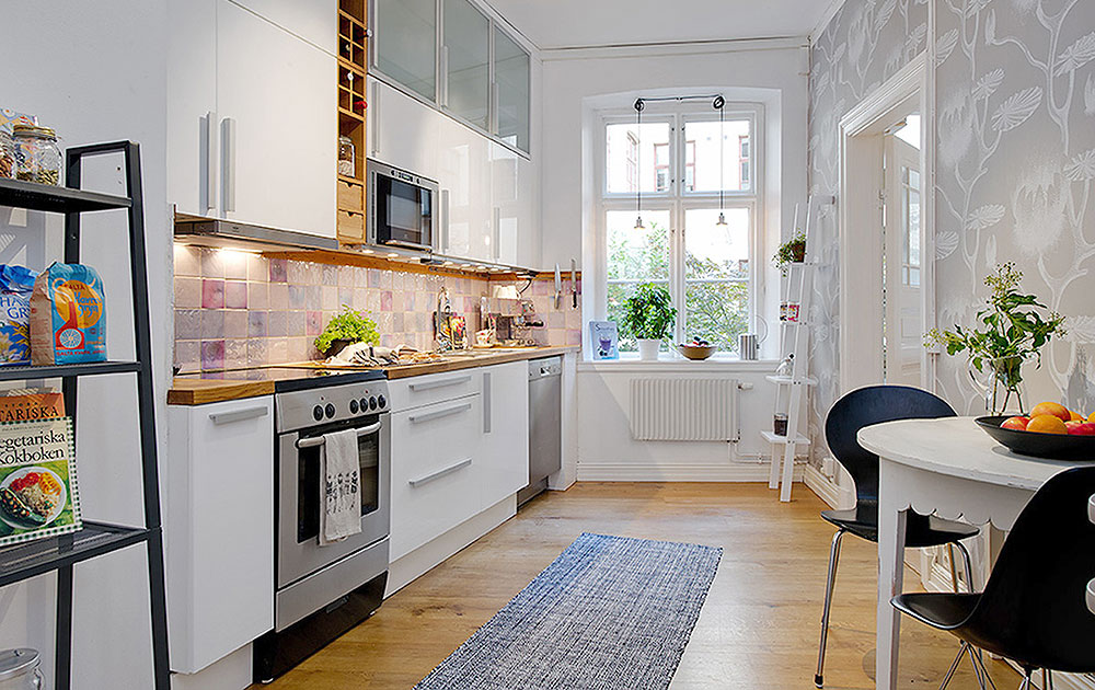 Kitchens for Small Apartments, Ideas, Designs & Materials