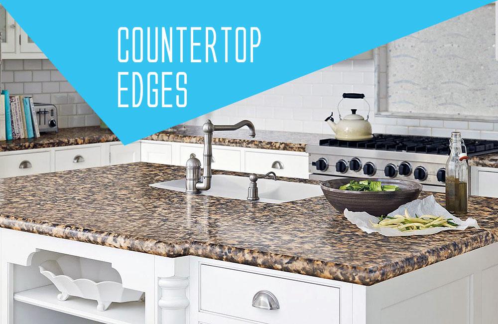 Kitchen Countertop Edges Options - Polaris Home Design
