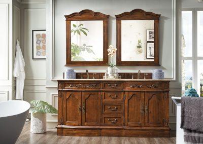 Amalfi Classico 72 Double Bathroom Vanity