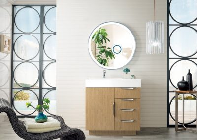 Bainbridge 36 Single Vanity, Tribeca Oak