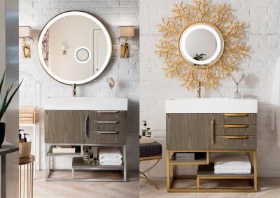 Columbia 36 Single Vanity, Ash Gray