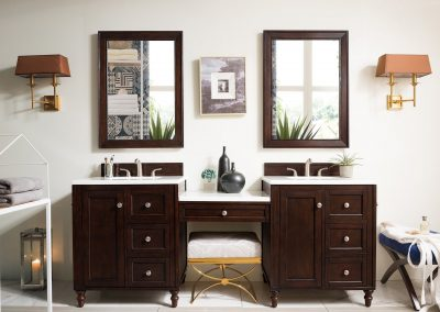 Copper Cove Encore 86 Double Bathroom Vanity