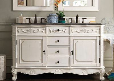 Costa Blanca Classico 60 Double Bathroom Vanity