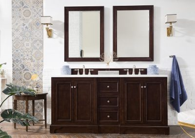 De Soto 72 Double Bathroom Vanity