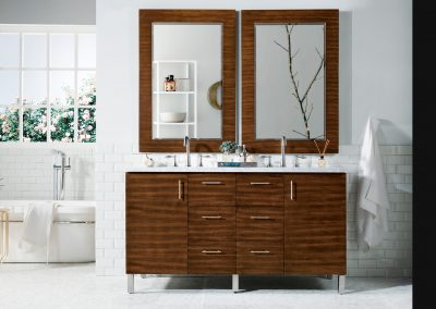 Metropolitan 60 Double Bathroom Vanity