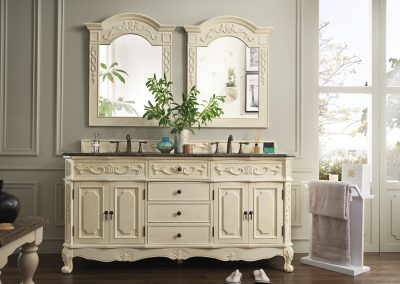 Naples Classico 72 Double Bathroom Vanity