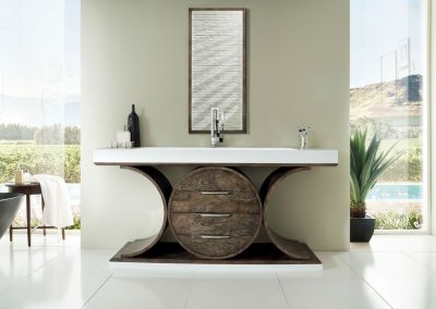 Oasis 72 Single Bathroom Vanity, Olive Ash Eclipse