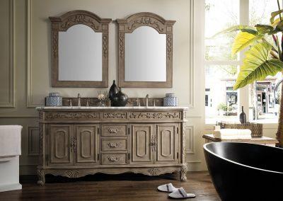 Riviera Classico 72 Double Bathroom Vanity