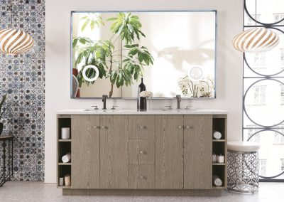 Seaside 72 Double Vanity, Silver Apricot