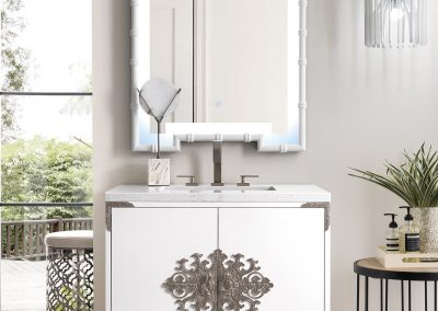Ventura 30 Single Vanity, Glossy White