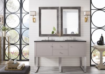 Westlake 60 Double Vanity, Mountain Mist