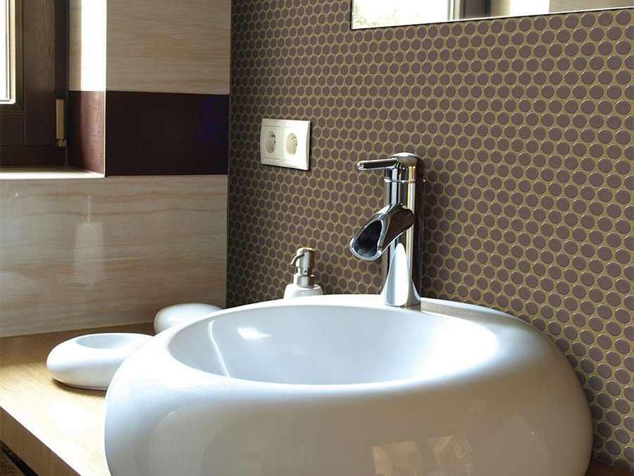 Creative Bathroom Tile Ideas