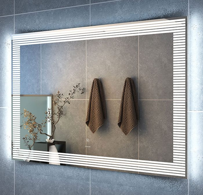 How To Decorate Your Bathroom With Frameless Mirrors
