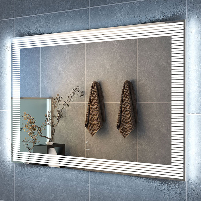 How To Decorate Your Bathroom With Frameless Mirrors Polaris Home Design